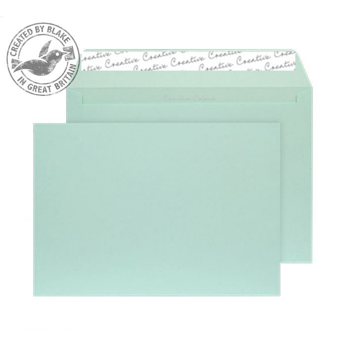 Creative Colour Spearmint Green P&S Wallet C5 162x229mm Ref 317 [Pack 500] 10 Day Leadtime