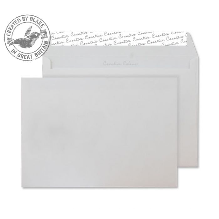 Creative Colour Wallet P&S Milk White 120gsm C5 162x229mm Ref 351 [Pack 500] *10 Day Leadtime*