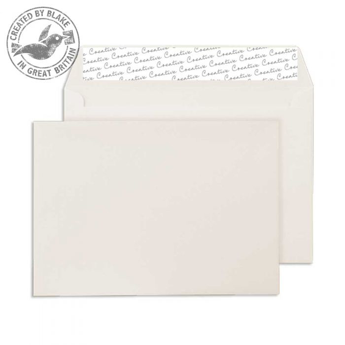 Creative Colour Wallet P&S Soft Ivory 120gsm C5 162x229mm Ref 352 [Pack 500] *10 Day Leadtime*