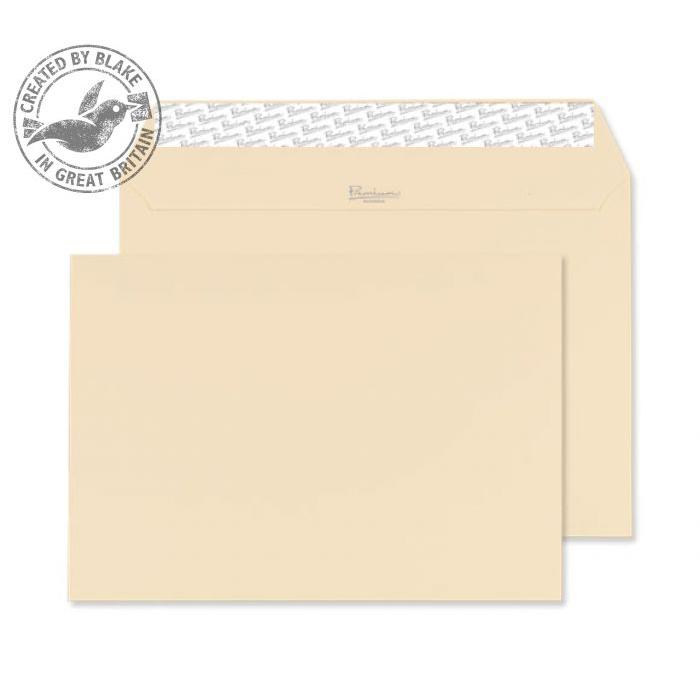 Blake Premium Business Wallet P&S Cream Wove C5 162x229mm 120gsm Ref 61707 Pk 500 *10 Day Leadtime*
