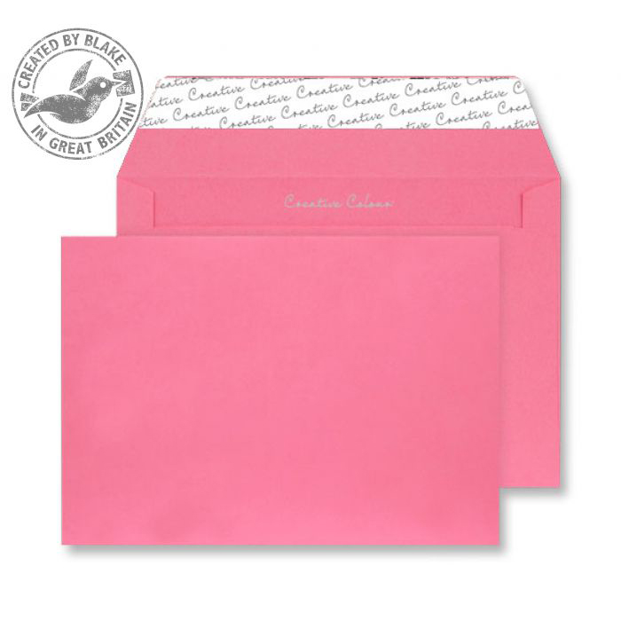 Creative Colour Flamingo Pink P&S Wallet C4 229x324mm Ref 402 [Pack 250] 10 Day Leadtime
