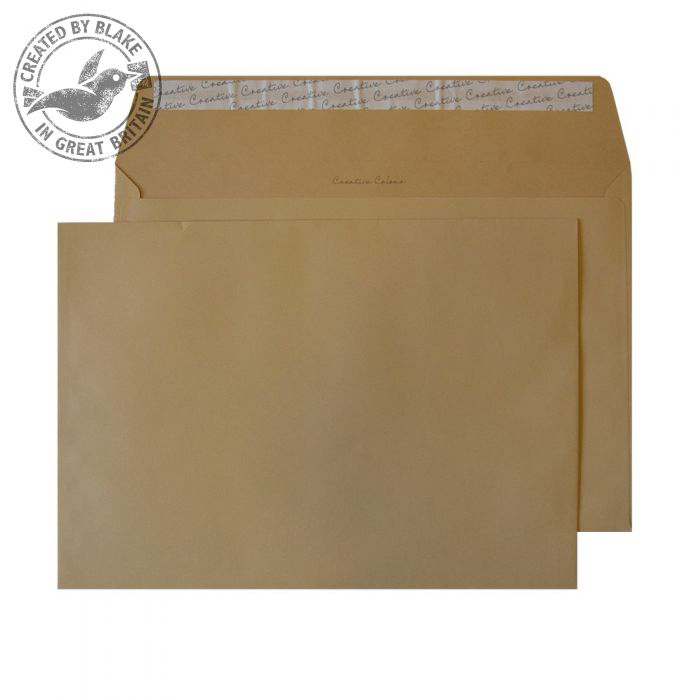 Creative Colour Biscuit Beige P&S Wallet C4 229x324mm Ref 427 [Pack 250] *10 Day Leadtime*