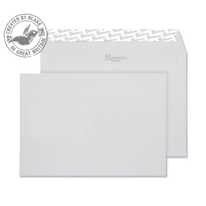 Blake Premium Business Wallet P&S Diamond White Smooth C5 120gsm Ref 36707 Pk500 *10 Day Leadtime*