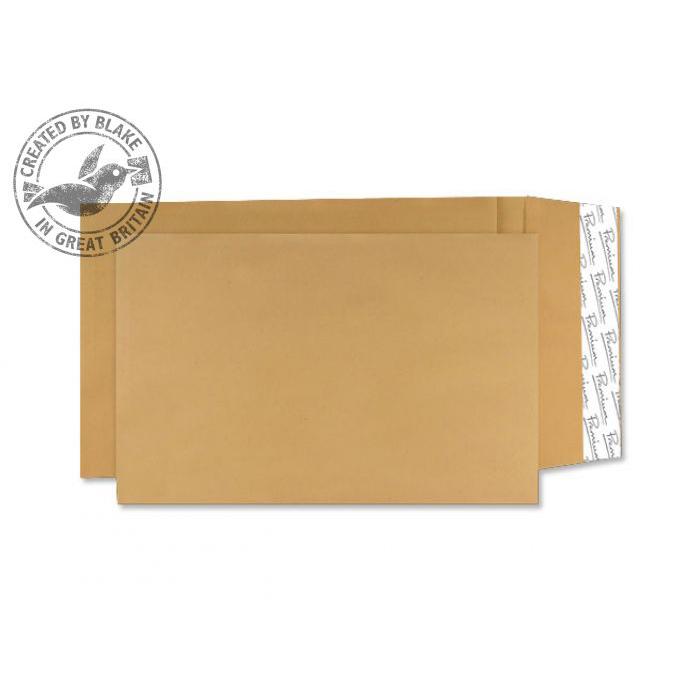 Gusset Envelopes Blake Prem AvantGarde Gusset P&S Cream Manilla 406x305x30 140gsm Ref AG0070 Pk100 *10 Day Leadtime*