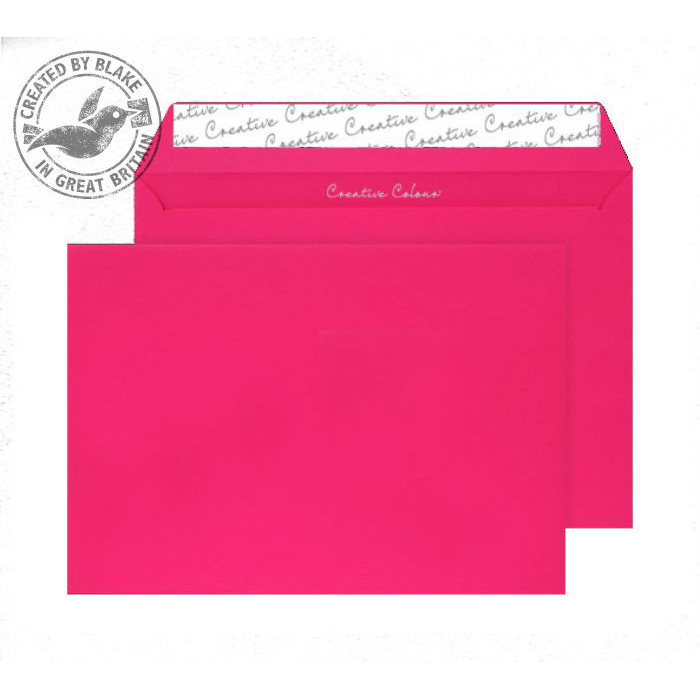 Creative Colour Shocking Pink P&S Wallet C4 229x324mm Ref 442 [Pack 250] *10 Day Leadtime*