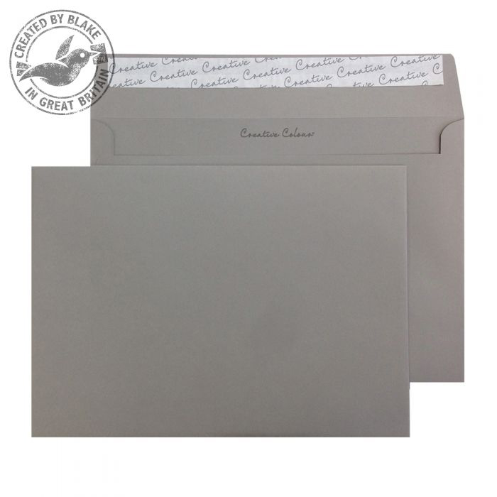 Creative Colour Wallet P&S Storm Grey 120gsm C5 162x229mm Ref 325 [Pack 500] 10 Day Leadtime