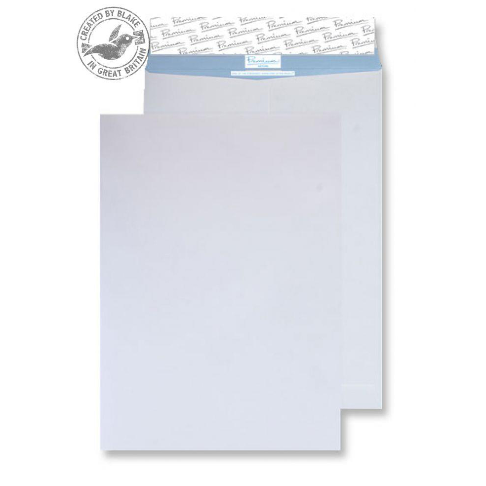 Blake Premium Secure Pocket P&S White B4 352x250mm 125gsm Ref TR8990 Pack 125 *10 Day Leadtime*