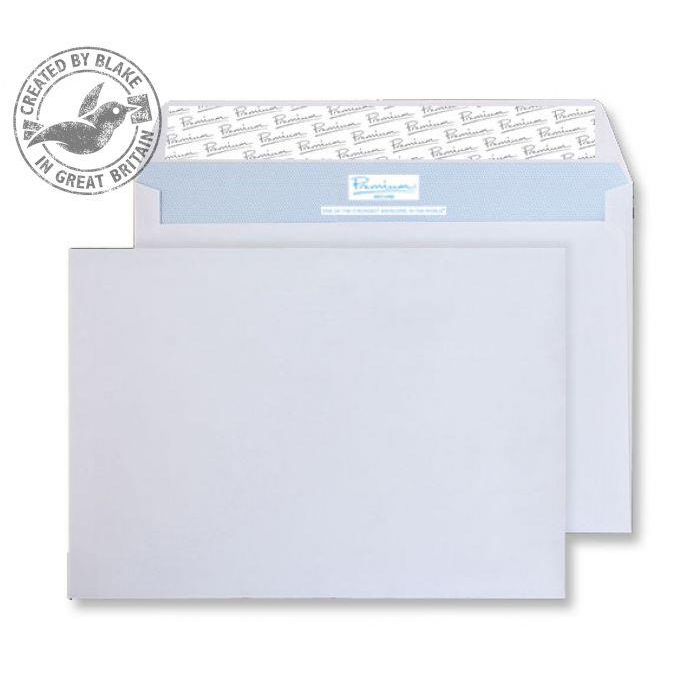 Tear Resistant Blake Premium Secure Wallet P&S White C5 162x229mm 125gsm Ref TR67701 [Pack 250] *10 Day Leadtime*