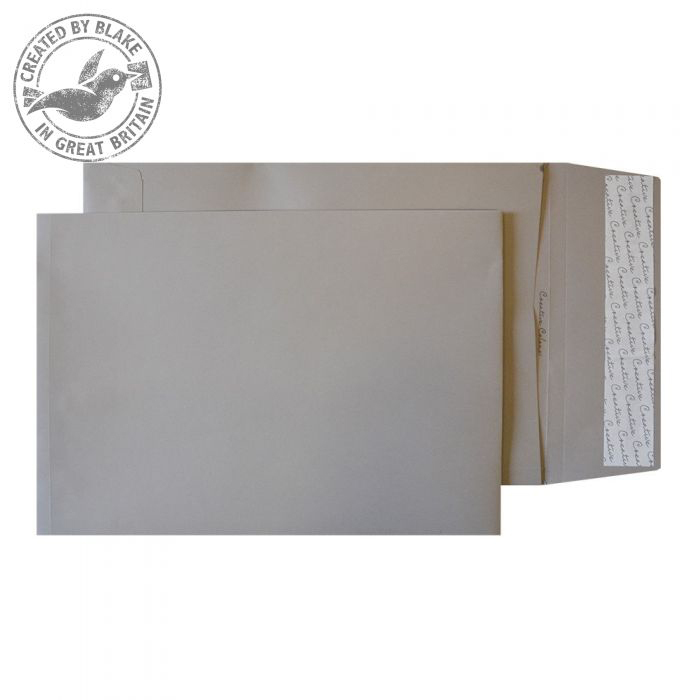 Creative Colour Storm Grey P&S Gusset B4 352x250x25mm Ref 11250 Pack 125 *10 Day Leadtime*