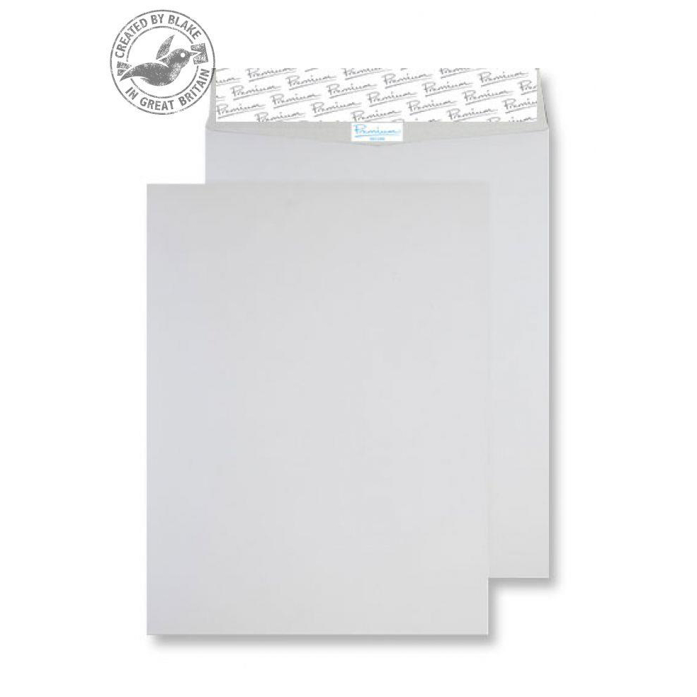 Blake Premium Secure Pocket P&S White 394x305mm 125gsm Ref TR77160 [Pack 100] *10 Day Leadtime*