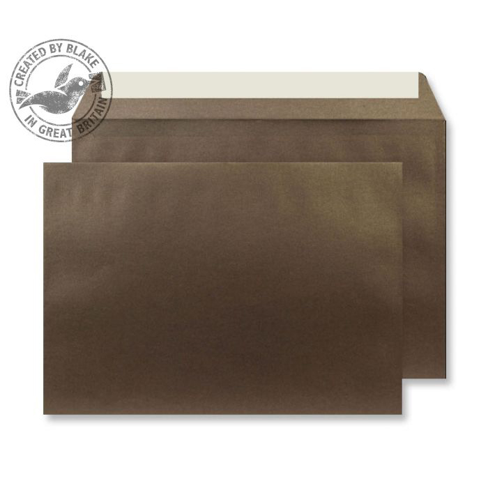 Creative Shine Pearlescent Wallet P&S Antique Bronze 120gsm C5 Ref PL335 Pk250 10 Day Leadtime