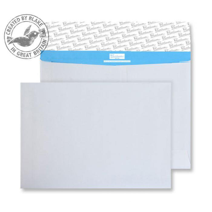 Gusset Envelopes Blake Premium Secure Gusset P&S White C4 229x324x50mm 125gsm Ref TR7700 Pk 100 *10 Day Leadtime*