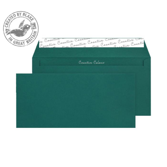 Creative Colour Wallet P&S British Racing Green 120gsm DL+ 114x229 Ref 221 Pk 500 10 Day Leadtime