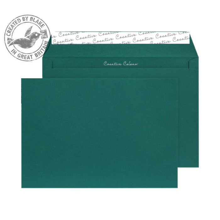 Creative Colour British Racing Green P&S Wallet C4 229x324mm Ref 421 [Pack 250] 10 Day Leadtime