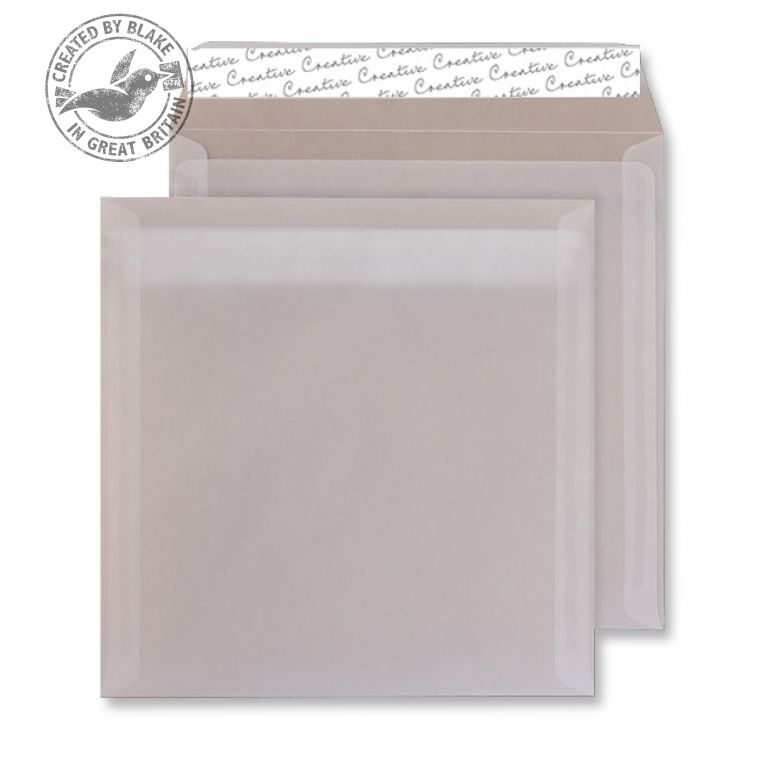 Creative Senses Translucent White P&S Wallet 220x220mm Ref 515 [Pack 250] 10 Day Leadtime