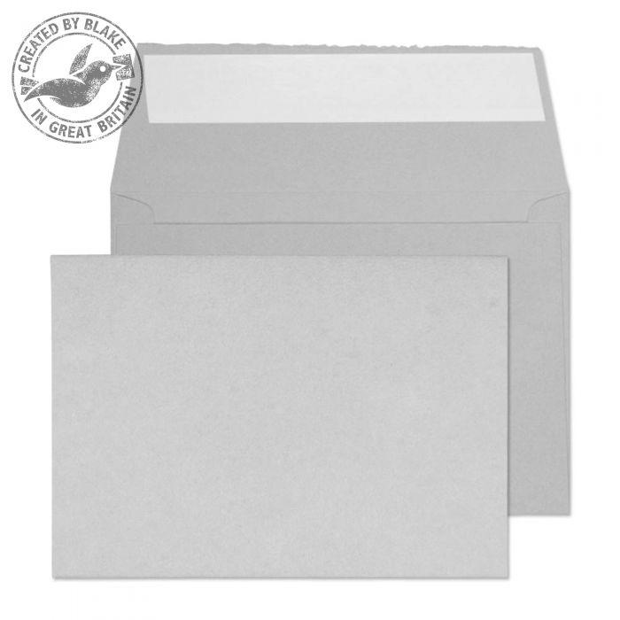 Creative Senses Wallet P&S Soft Grey 180gsm C6 114x162mm Ref DE144 [Pack 50] *10 Day Leadtime*