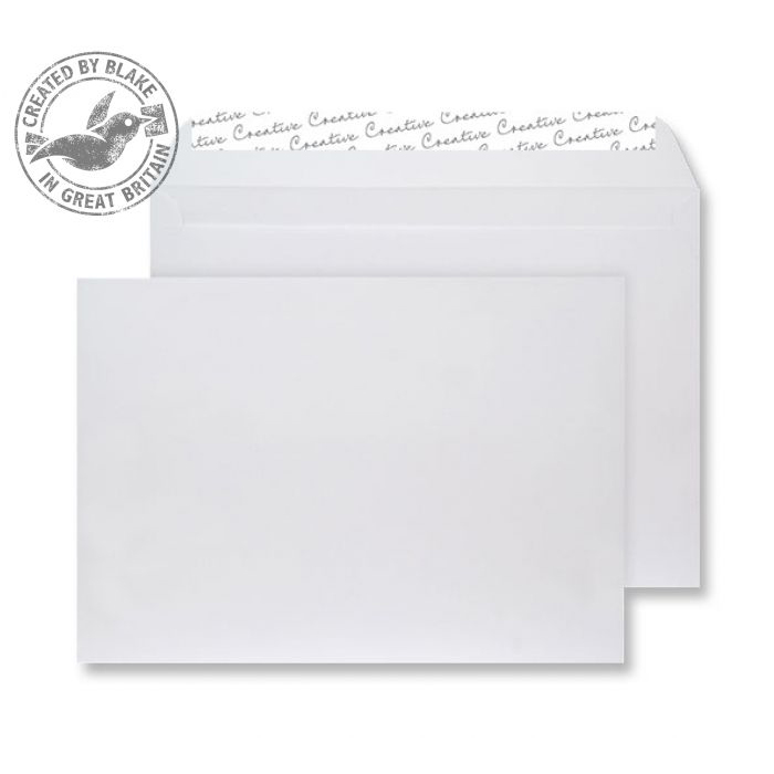 Creative Senses Wallet P&S White Velvet C4 229x324mm 140gsm Ref V741 Pack 125 *10 Day Leadtime*