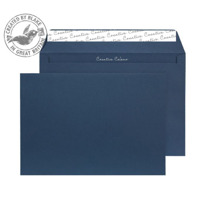 C5 Creative Colour Oxford Blue Peel and Seal Wallet C5 162x229mm Ref 320 Pack 500 *10 Day Leadtime*