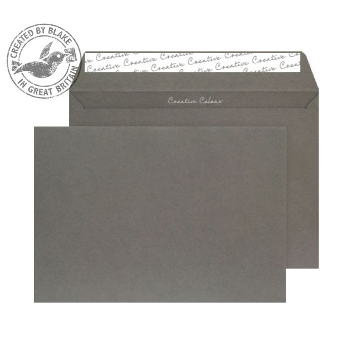 Creative Colour Graphite Grey P&S Wallet C5 162x229mm Ref 324 Pack 500 *10 Day Leadtime*