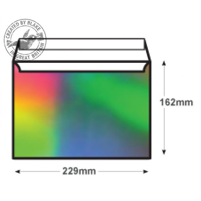 Creative Shine Wallet P&S Shimmering Rainbow 140gsm C5 162x229mm Ref EF390 Pk 100 *10 Day Leadtime*