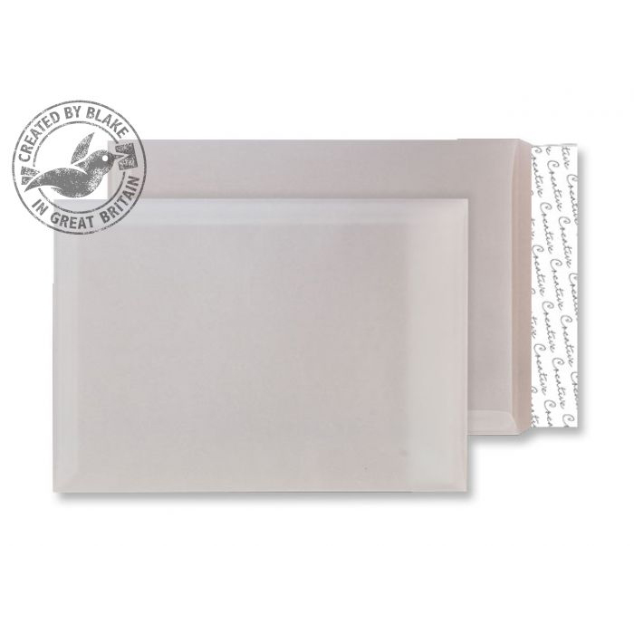 Creative Senses Pocket P&S Translucent White 90gsm C4 324x229mm Ref ICE715 Pk 250 *10 Day Leadtime*