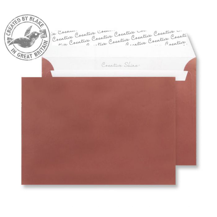 Creative Shine Metallic Bronze P&S Wallet C5 162x229mm Ref 331 Pack 500 *10 Day Leadtime*