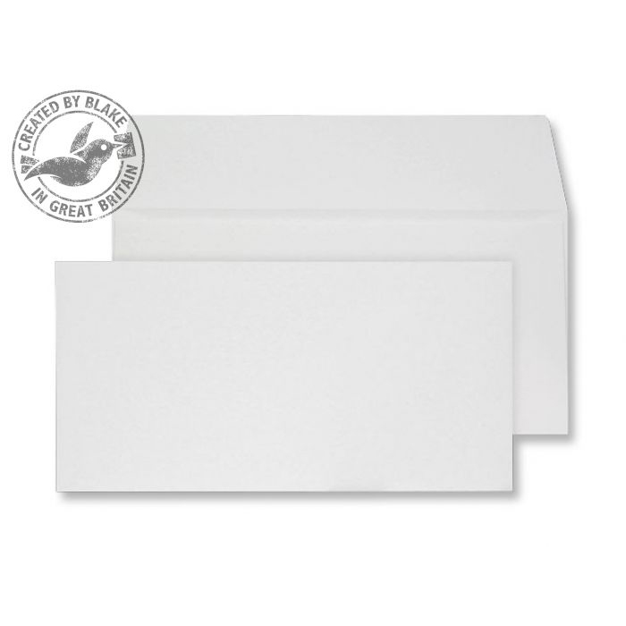 Creative Senses Wallet P&S Beautifully White 180gsm DL 110x220mm Ref DE243 Pk 50 *10 Day Leadtime*