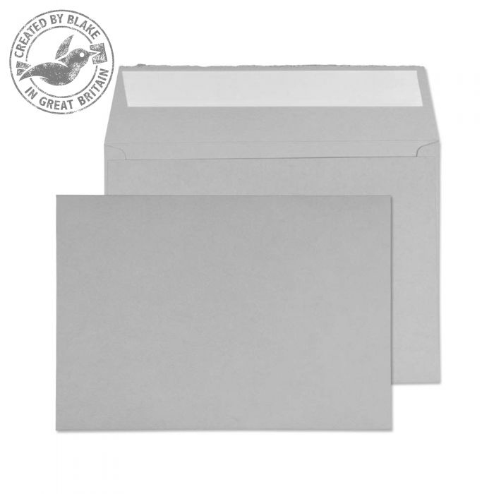 Creative Senses Wallet P&S Soft Grey 180gsm C5 162x229mm Ref DE344 [Pack 50] 10 Day Leadtime