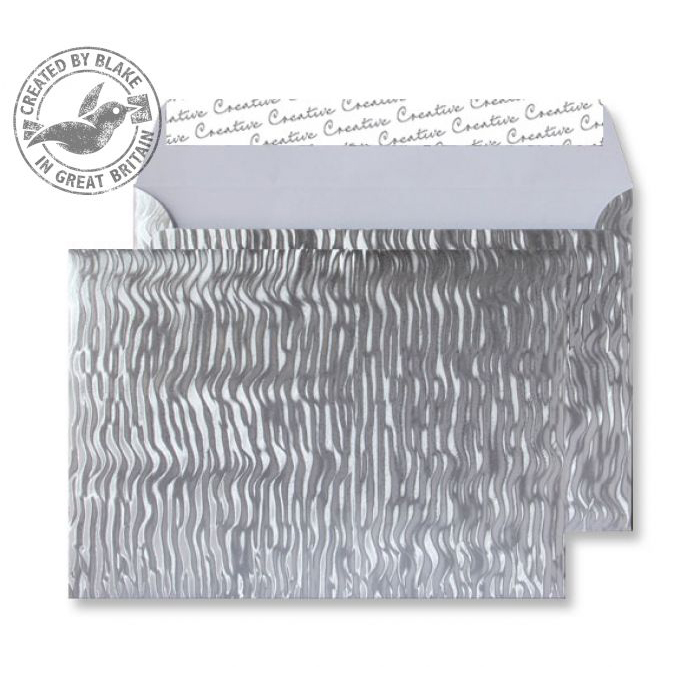 Creative Shine Wallet P&S Metal Ripple 140gsm C5 162x229mm Ref EF393 [Pack 100] 10 Day Leadtime