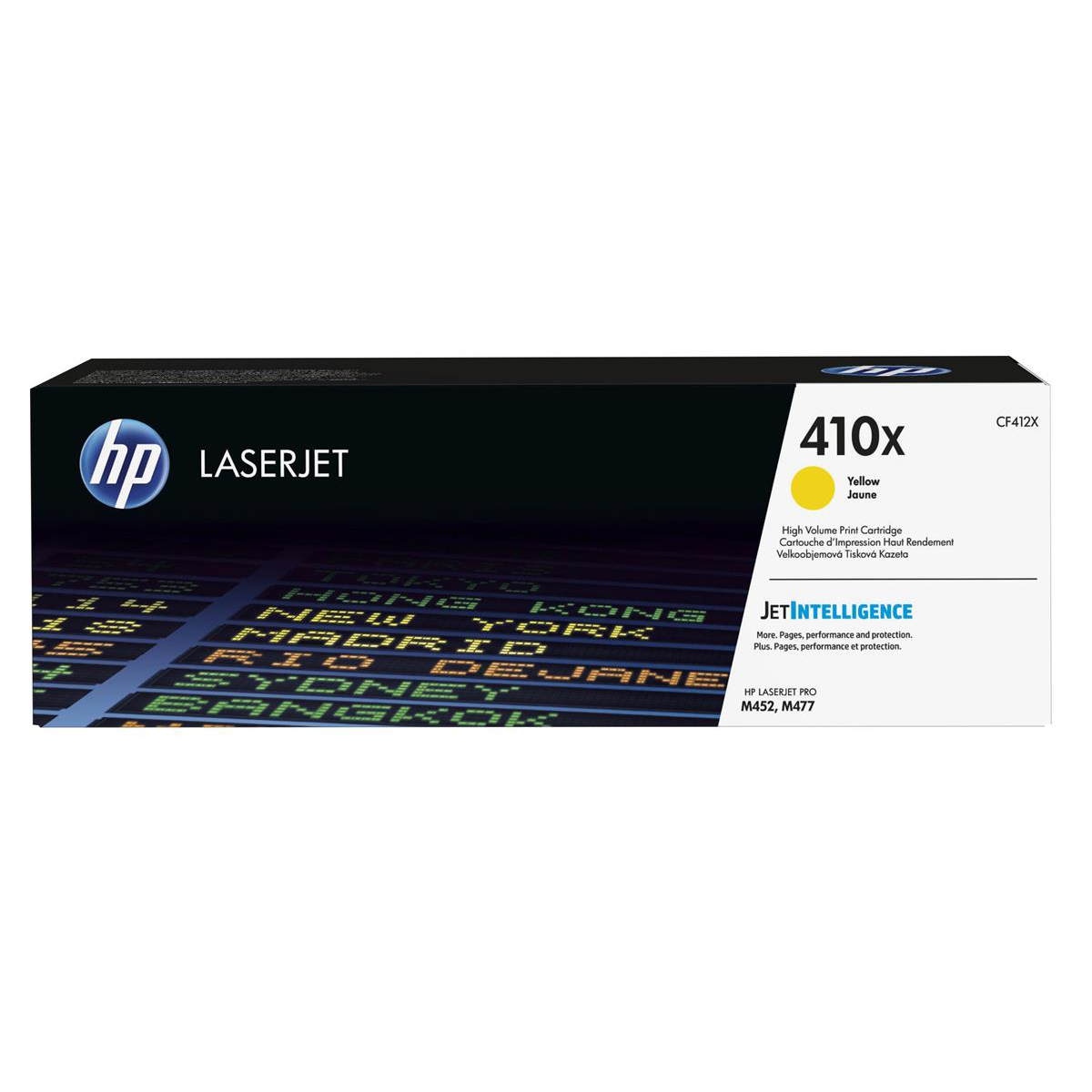 HP 410X Laser Toner Cartridge High Yield Page Life 5000pp Yellow Ref CF412X