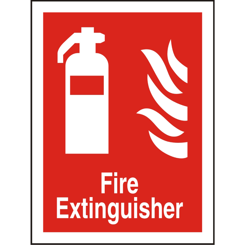 Photolum Fire Sign 200x300 1mm Plastic Fire extinguisher Ref FF071PLRP200x300 Up to 10 Day Leadtime