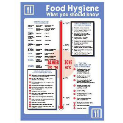 Stewart Superior Catering Sign A2 Self Adhesive Vinyl Food hygiene Ref HS025SAV-A2*Up to 10 Day Leadtime*