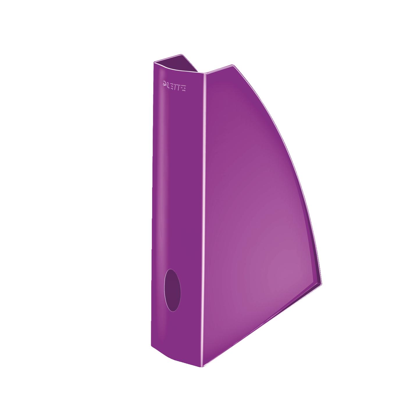 Leitz WOW Magazine File A4 Purple Ref 52771062