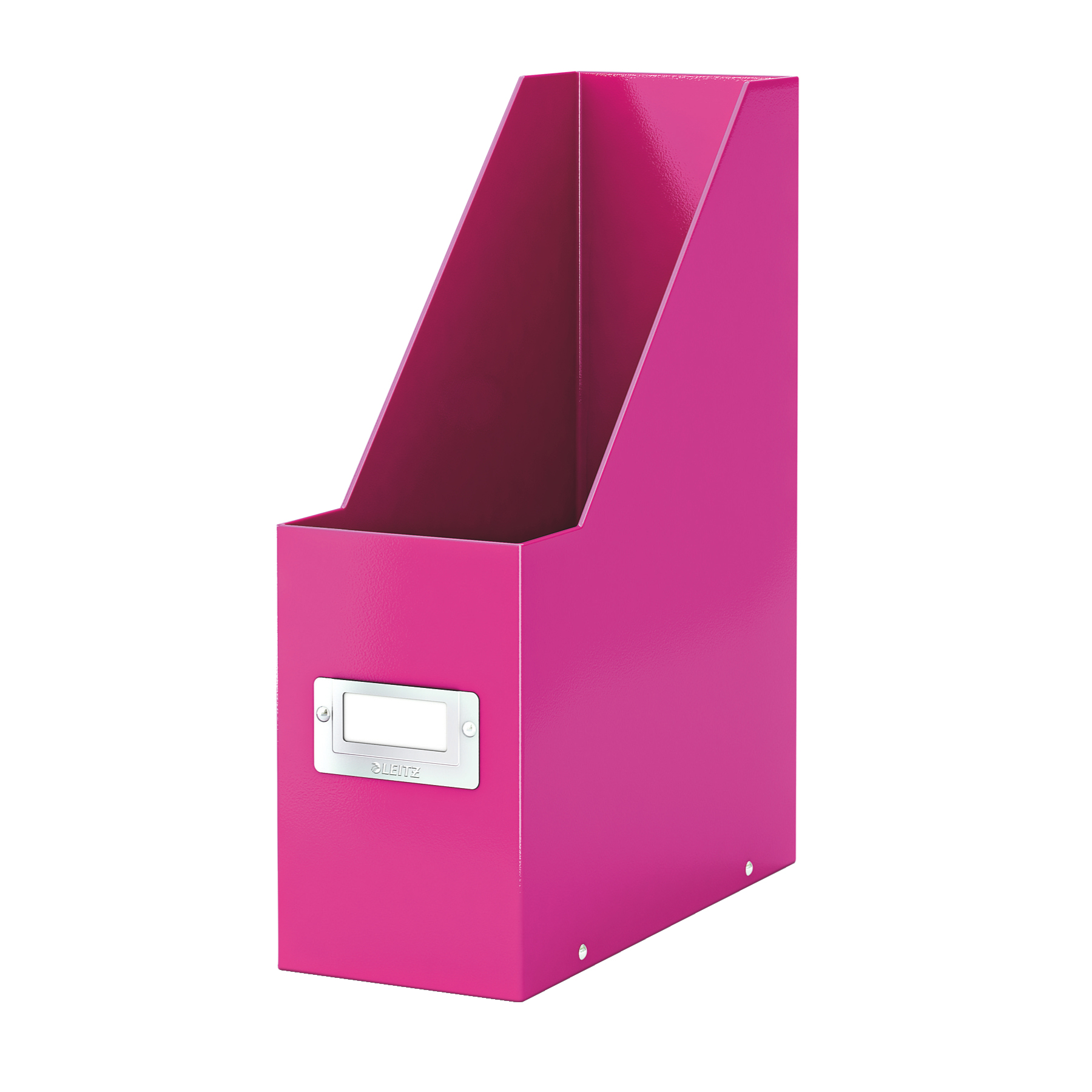 Literature rack Leitz Click & Store Magazine File Collapsible Pink Ref 60470023