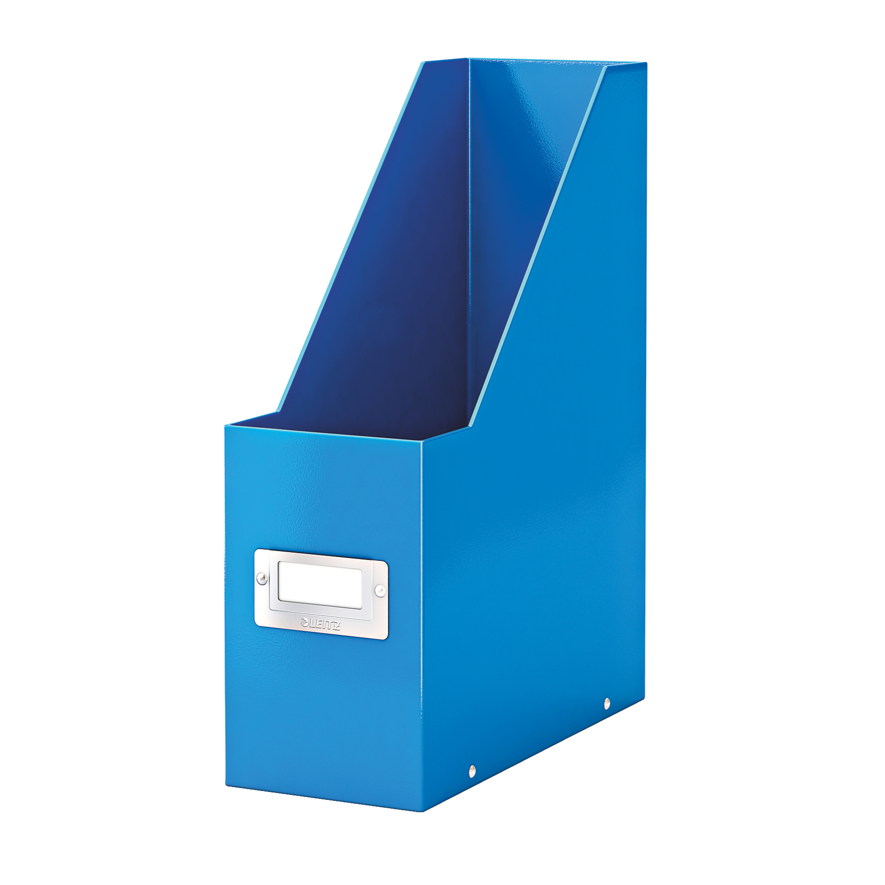 Literature rack Leitz Click & Store Magazine File Collapsible Blue Ref 60470036