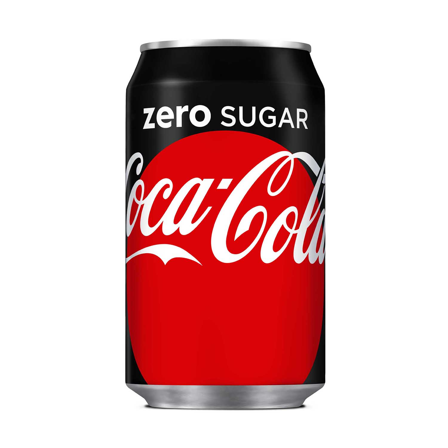 Coca Cola Coke Zero Soft Drink Can 330ml Ref N001018 Pack 24