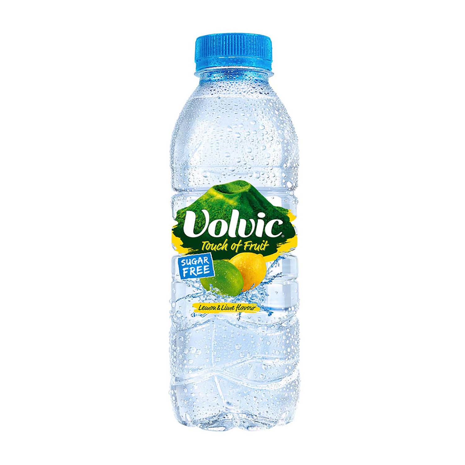 Volvic Natural Mineral Water Lemon & Lime Still Bottle Plastic 500ml Ref 122441 Pack 12