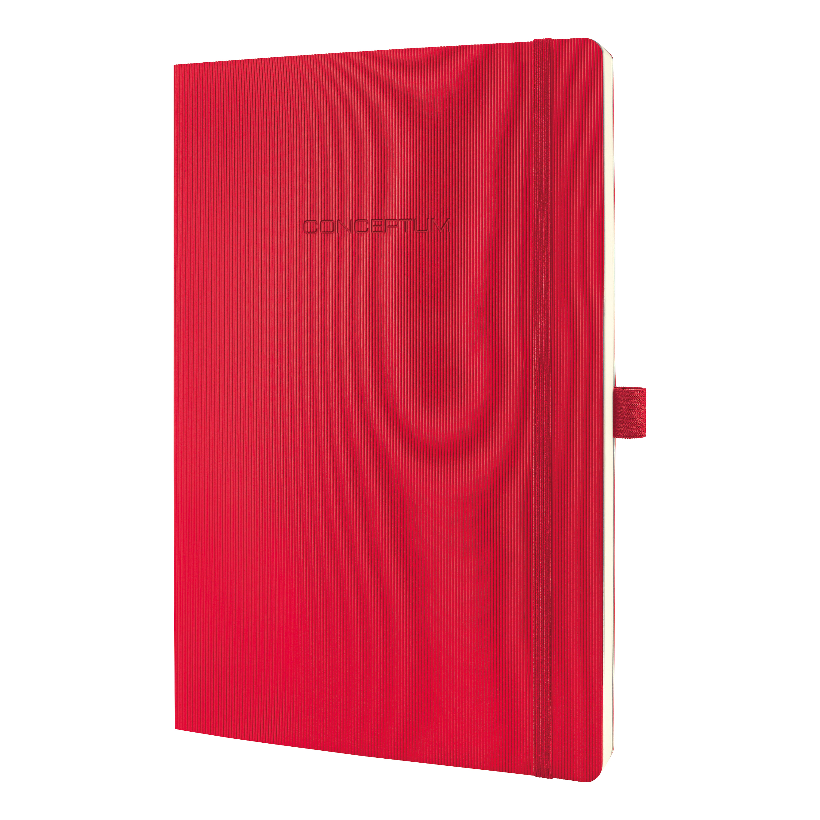 Sigel Conceptum Notebook Soft Cover 80gsm Ruled and Numbered 194pp PEFC A4 Red Ref CO315