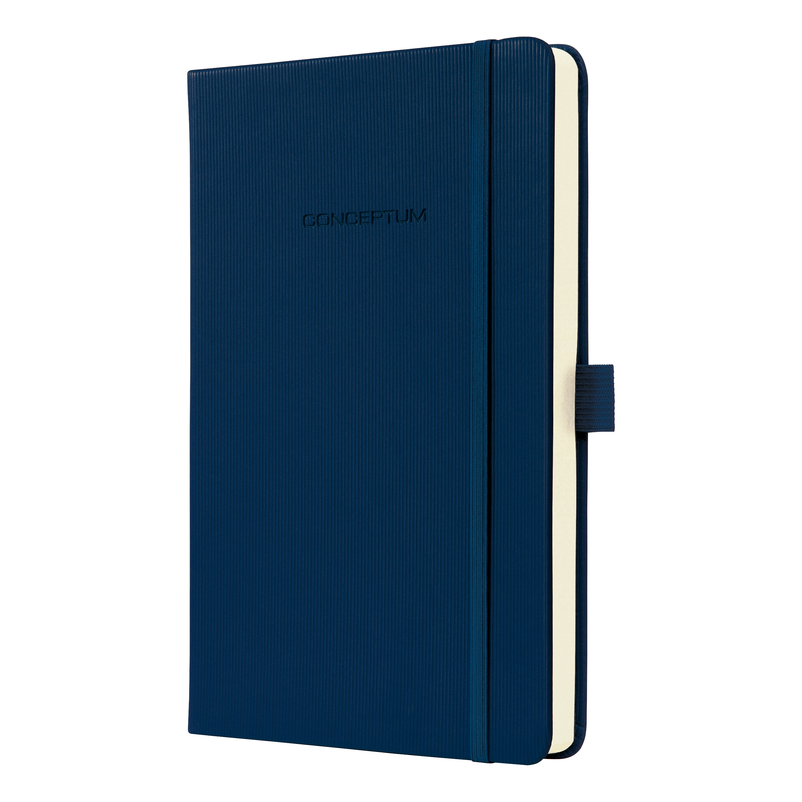 Sigel Conceptum Notebook Hard Cover 80gsm Ruled and Numbered 194pp PEFC A5 Midnight Blue Ref C0577