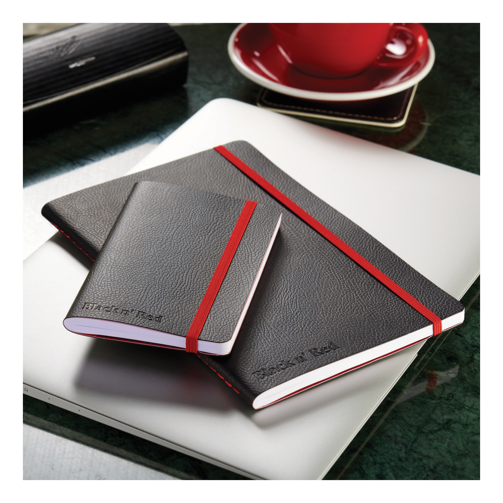 Black By Black n Red Business Journal Soft Cover Ruled and Numbered 144pp B5 Ref 400051203 PRICE OFFER