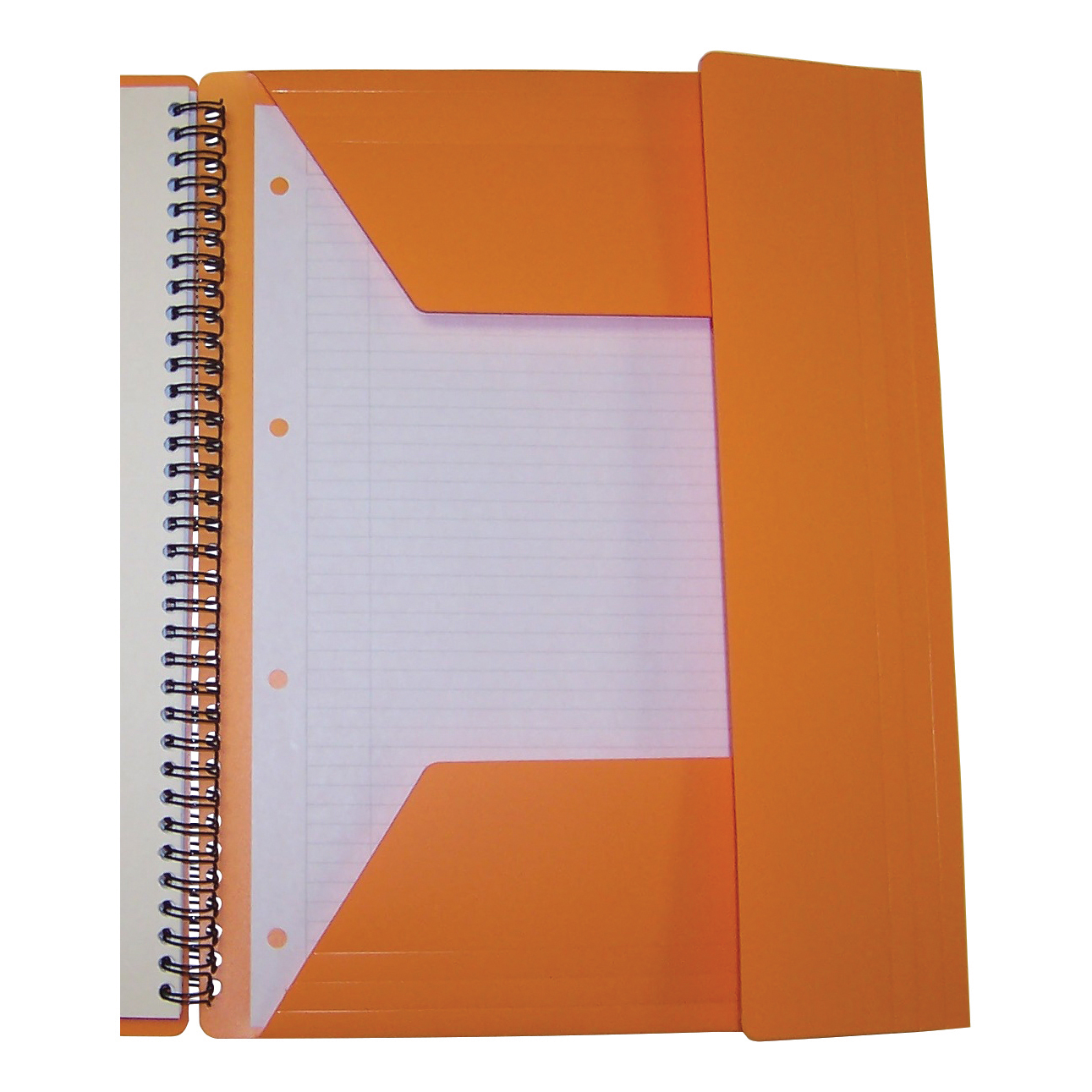 Oxford Int Meeting Nbk Poly Wbd 80gsm Smart Ruled Perf Punched 4 Holes 160pp A4+ Ref 100104296 Pack 5