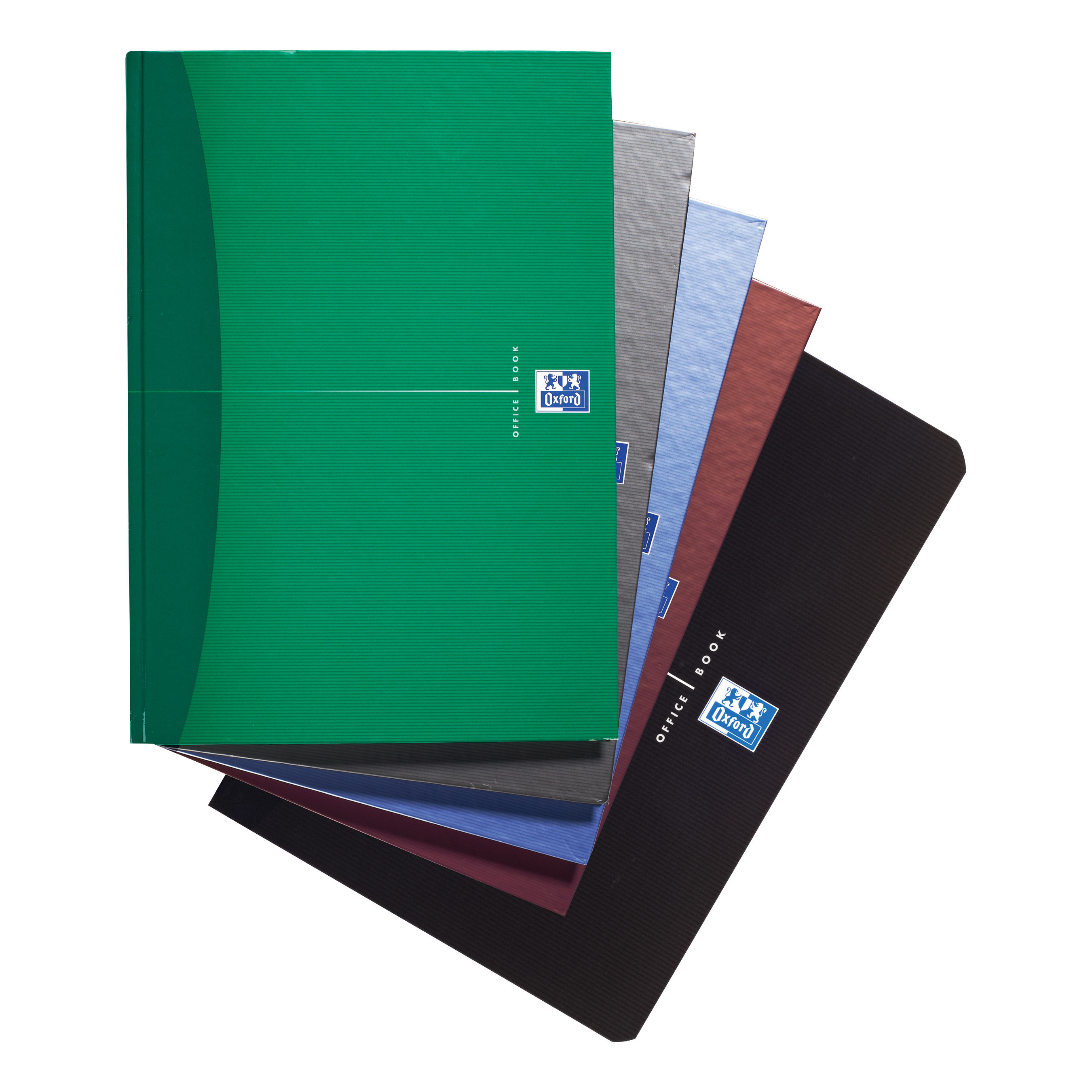 Oxford Office Nbk Casebound Hard Cover 90gsm Smart Ruled 192pp A5 Assorted Colour Ref 100103072 [Pack 5]