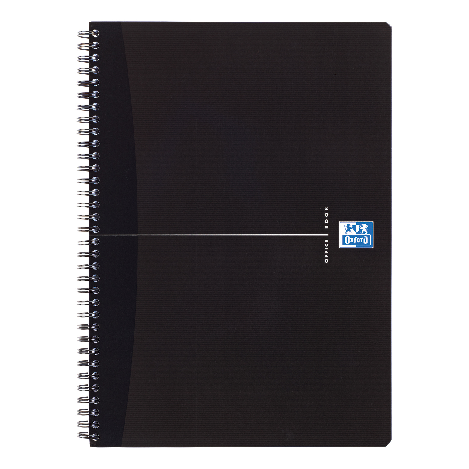 Oxford Office Notebook Wirebound Soft Cover 90gsm Smart Ruled 180pp A4 Black Ref 100102931 Pack 5