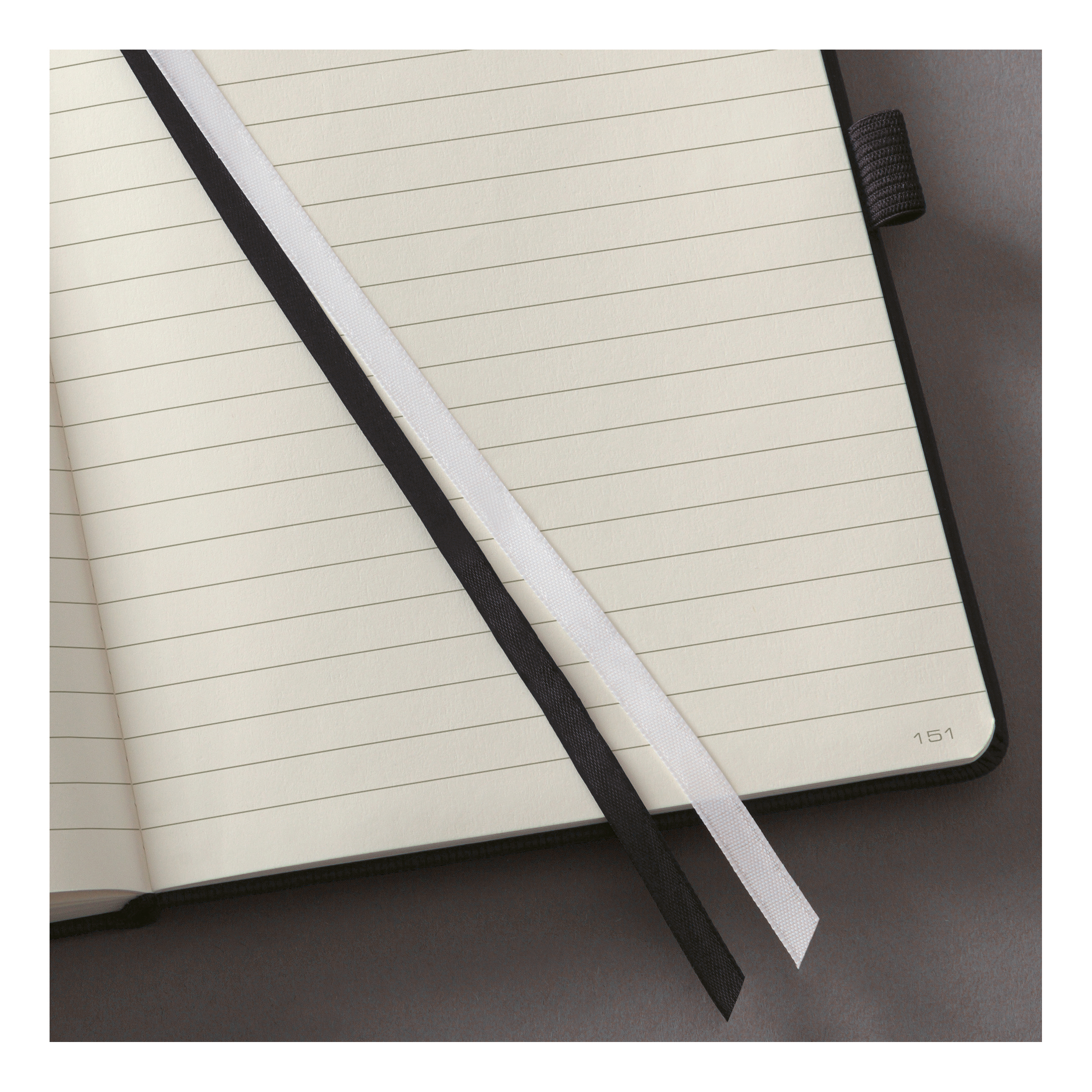 Sigel Conceptum Notebook Hard Cover 80gsm Ruled and Numbered 194pp PEFC A5 Black Ref CO122