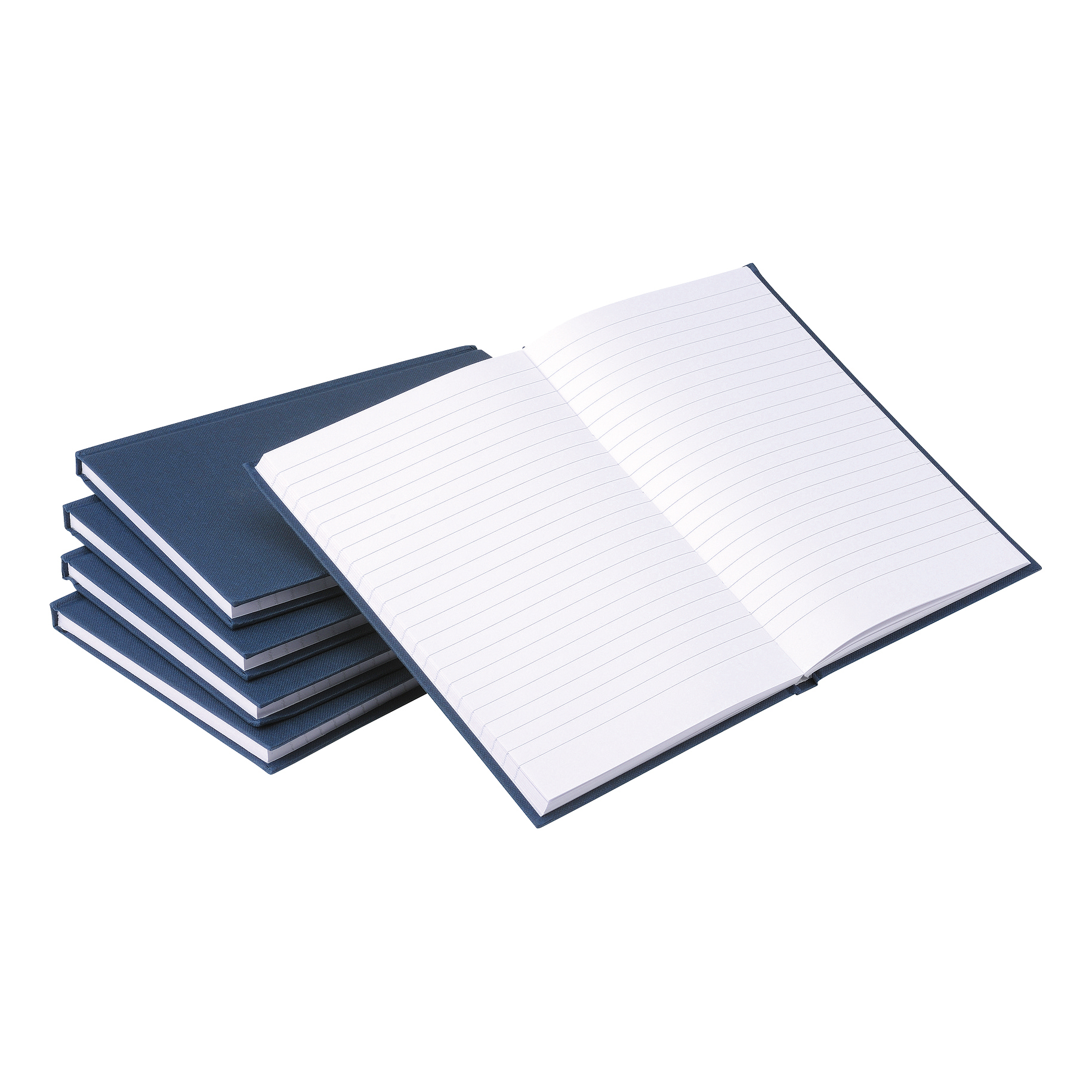 5 Star Value Casebound Notebook 70gsm Ruled 192pp A5 [Pack 5]
