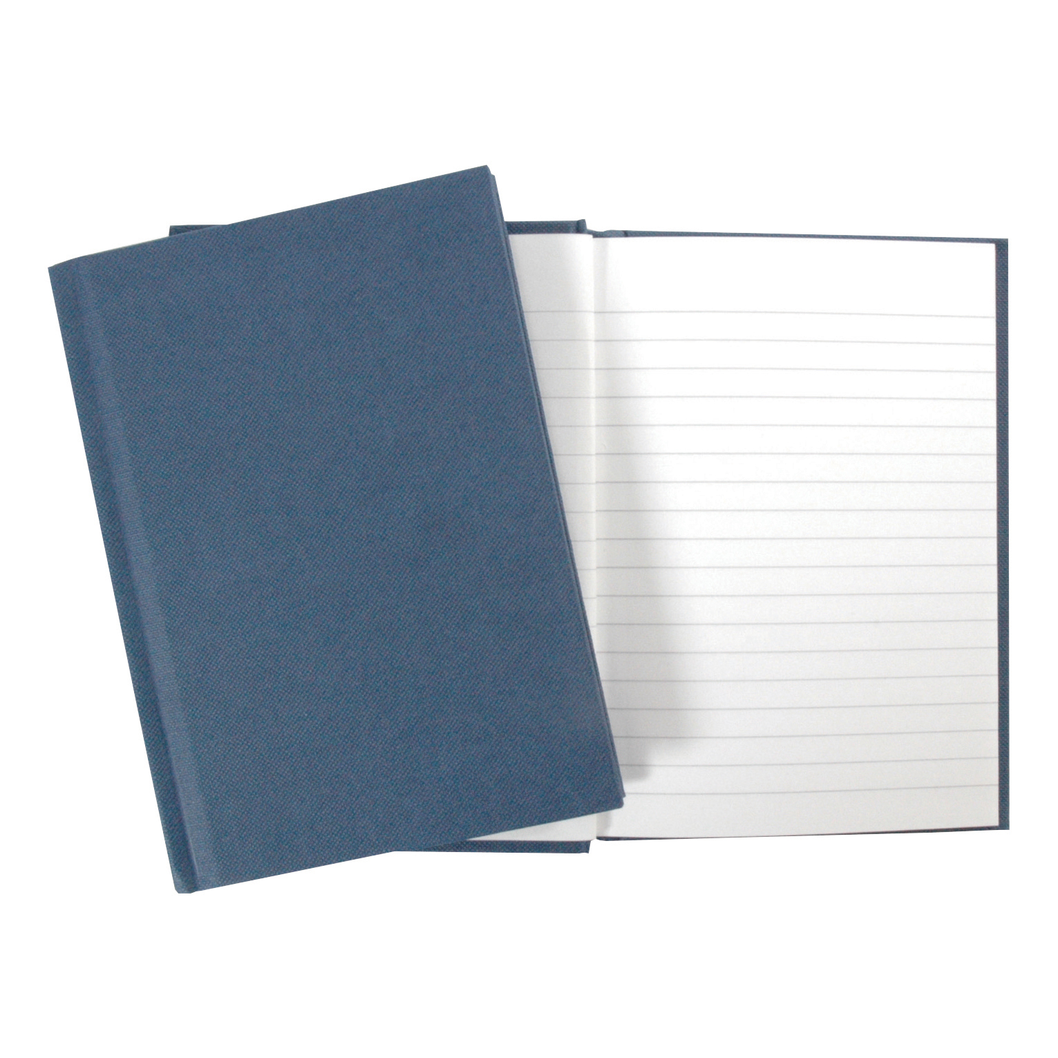 Notebooks Cambridge Notebook Casebound 70gsm Ruled 192pp A5 Blue Ref 100080493 Pack 5