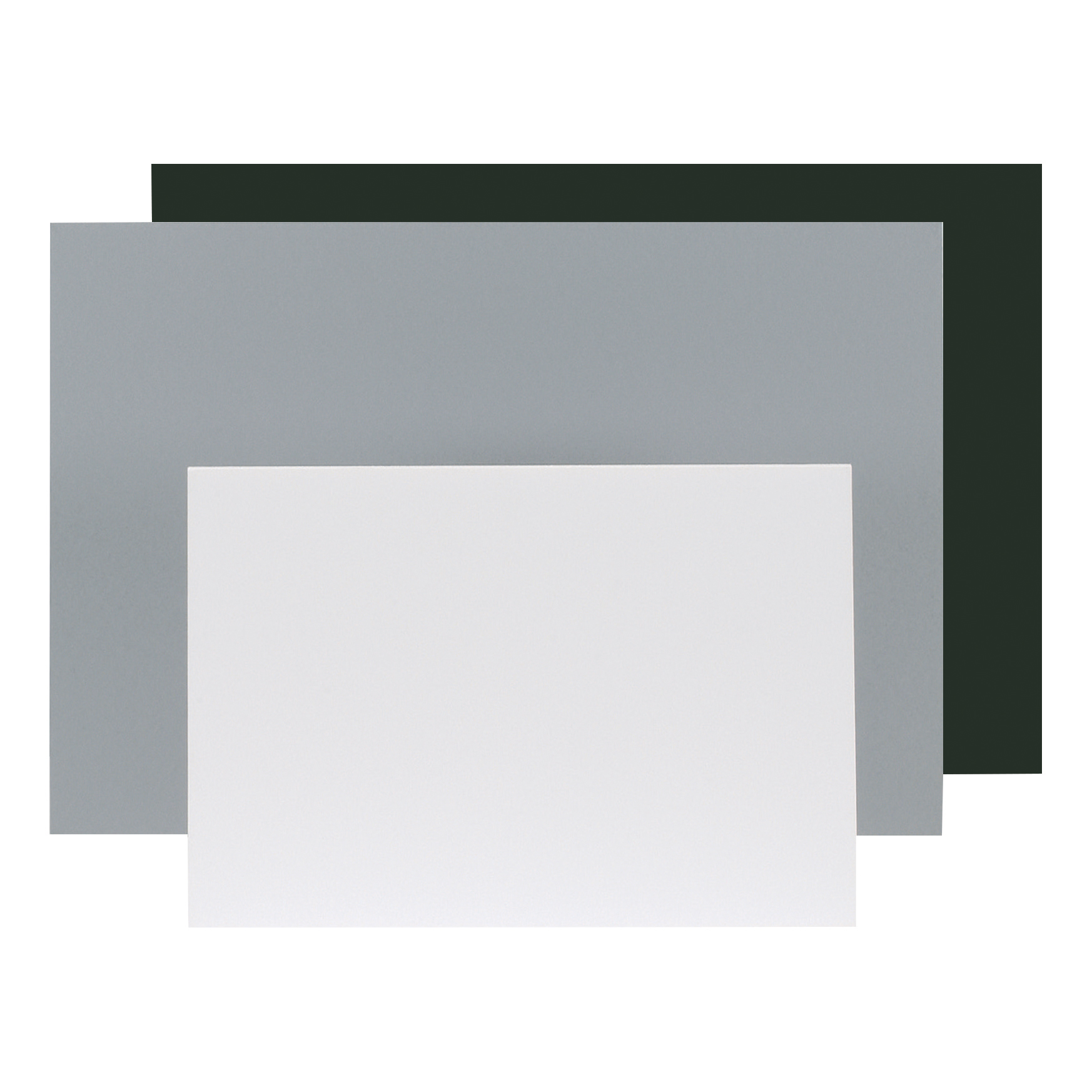 Display Foam Board Lightweight Durable CFC Free W594xD5xH840mm A1 Black & Grey Ref WF6001 [Pack 10]