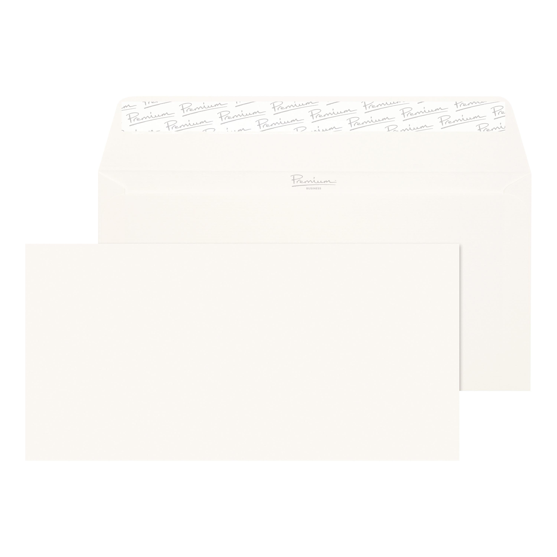 Blake Premium FSC Envelope Wallet Peel & Seal 120gsm Laid Finish DL Hi White Ref 39882 [Pack 500]