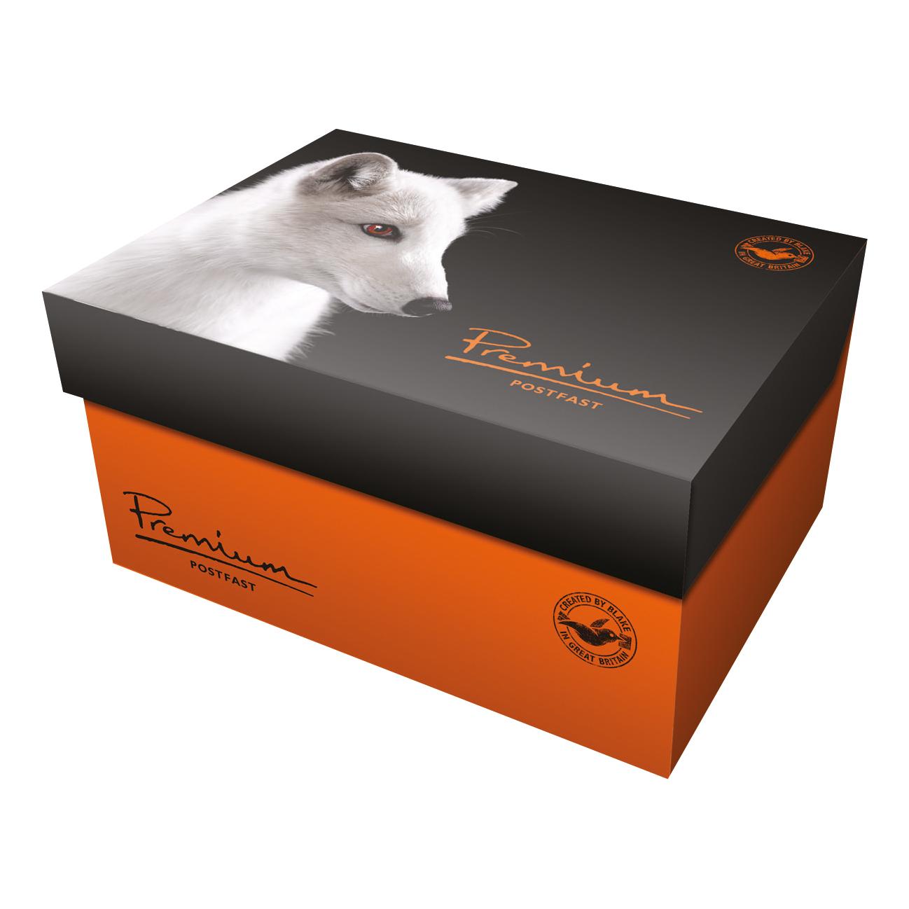 Blake Premium Postfast Mailing Wallet Gum White DL+ 114x229 90gsm Ref PF703 Pk500 *10 Day Leadtime*