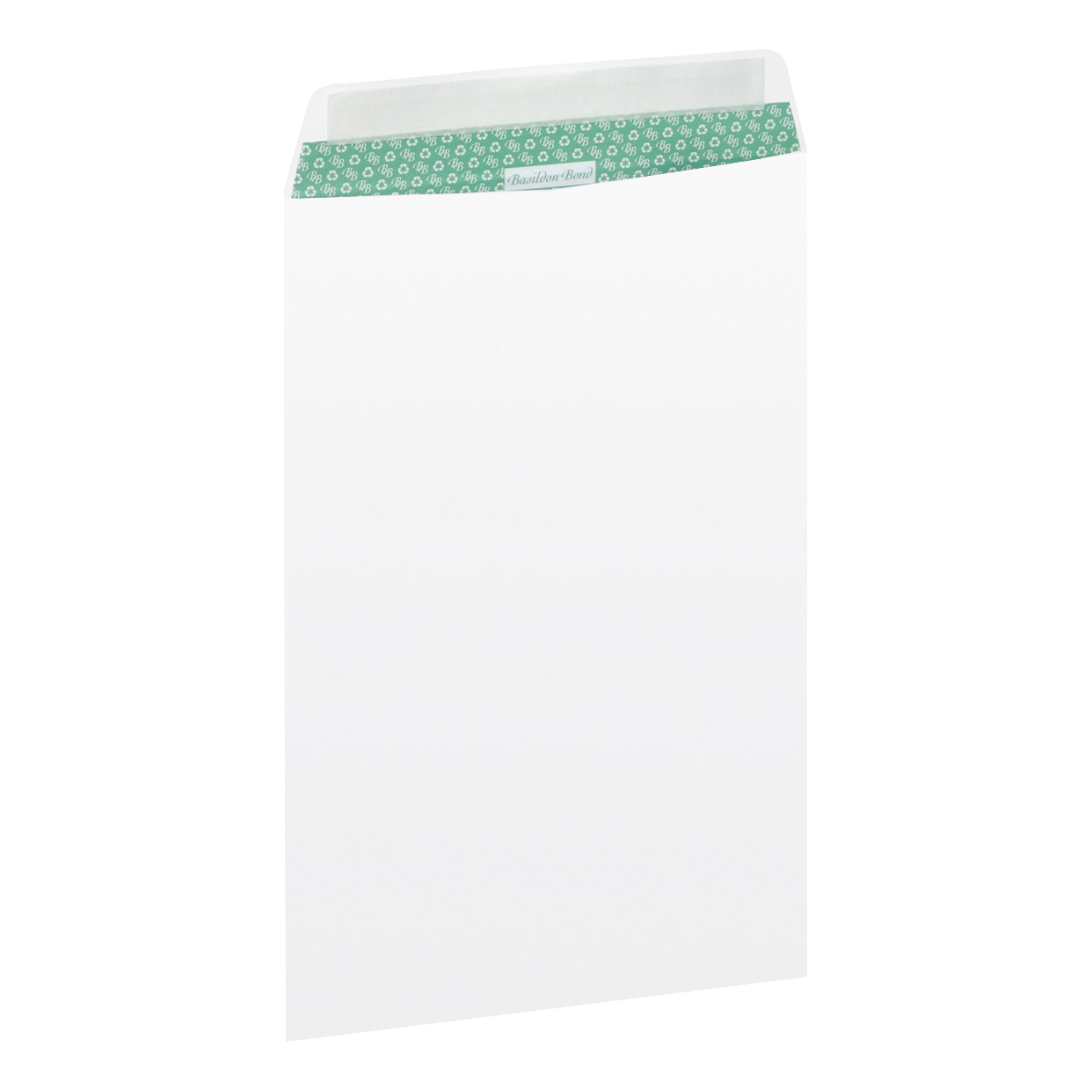 Standard envelopes Basildon Bond Envelopes FSC Recycled Pocket Peel & Seal 120gsm C4 324x229mm White Ref L80281 Pack 50